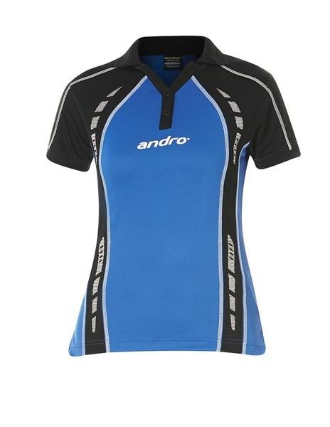 Andro Shirt Mago Women blau/schwarz