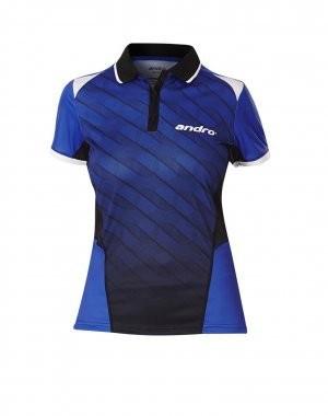 Andro Shirt Milos Women blau