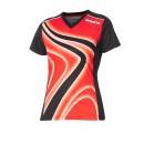 Andro Shirt Ferris Women rot/schwarz