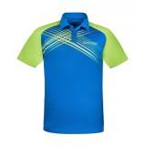 DONIC Polo-Shirt Riva danube blau/lime
