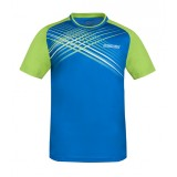 T-Shirt Attack blau/lime