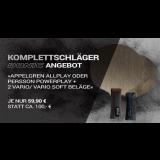 Komplettschläger mit DONIC Persson Powerplay + 2x DONIC Vario Belägen