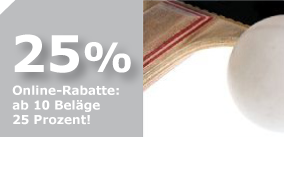 25%  Rabatt